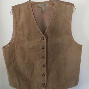 Marsh Landing Leather Vest
